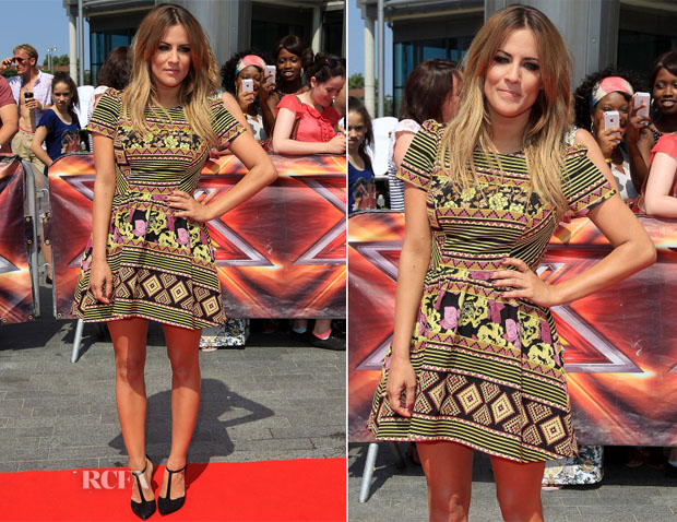 Caroline Flack In Topshop – The X Factor – Last Day Of London Auditions
