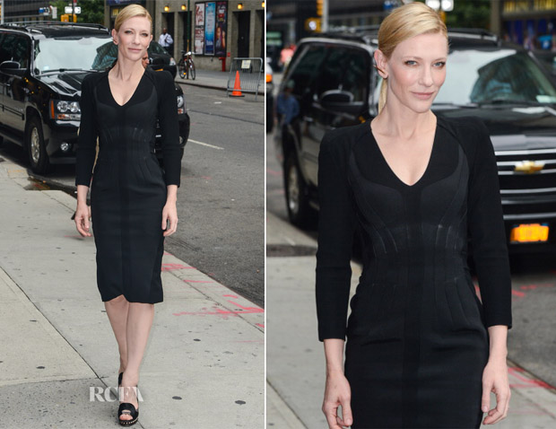 Cate Blanchett In Altuzzara - Late Show with David Letterman