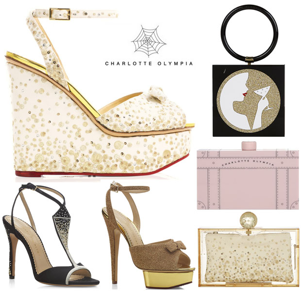 Charlotte Olympia Lovely Bubbly Collection