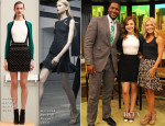 Chloe Moretz In Antonio Berardi - Live with Kelly and Michael