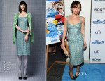 Christina Ricci In Thom Browne - 'The Smurfs 2' New York Premiere
