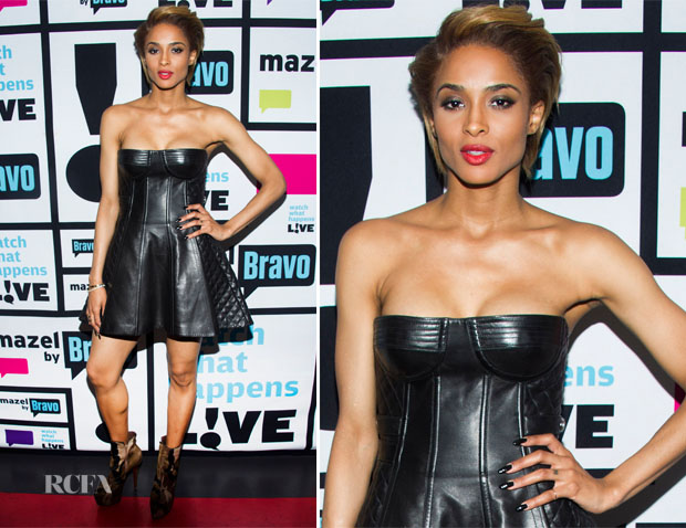Ciara In Balmain - 'Watch What Happens Live'