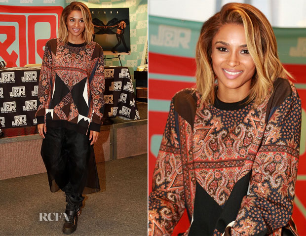 Ciara In Givenchy - 'Ciara' Album Promotion