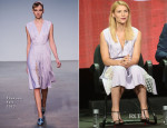 Claire Danes In Thakoon - 'Homeland' Panel Discussion: 2013 Summer TCA Tour