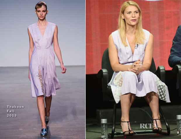 Claire Danes In Thakoon - 'Homeland Panel Discussion 2013 Summer TCA Tour