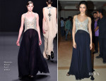 Deepika Padukone In Naeem Khan - 'Chennai Express' Music Launch