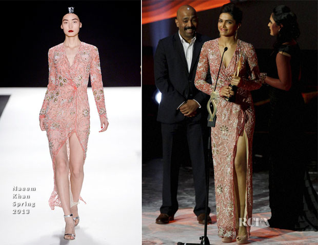 Deepika Padukone In Naeem Khan - Macau Bollywood IIFA Awards