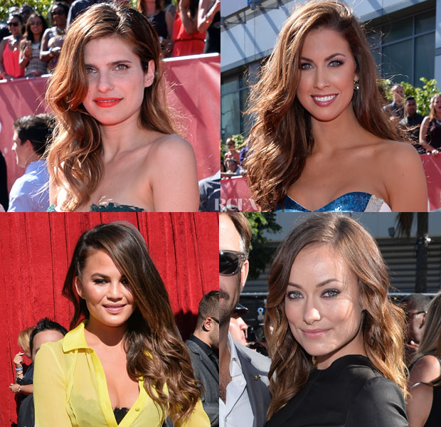 ESPY Awards Trend Spotting Long, Loose Waves