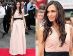 Famke Janssen In Carolina Herrera - 'The Wolverine' London Premiere