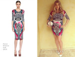 Fergie In Peter Pilotto - Ferg's Gayby Shower