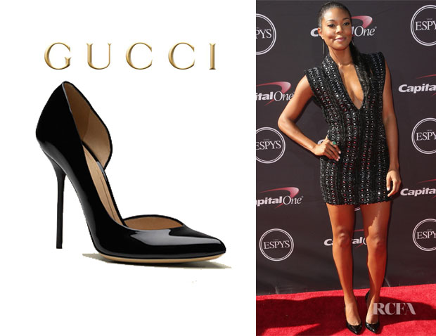 Gabrielle Union's Gucci 'Noah' Pumps