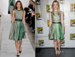 Gillian Jacobs In Oscar de la Renta - 'Community' Press Line: Comic-Con 2013