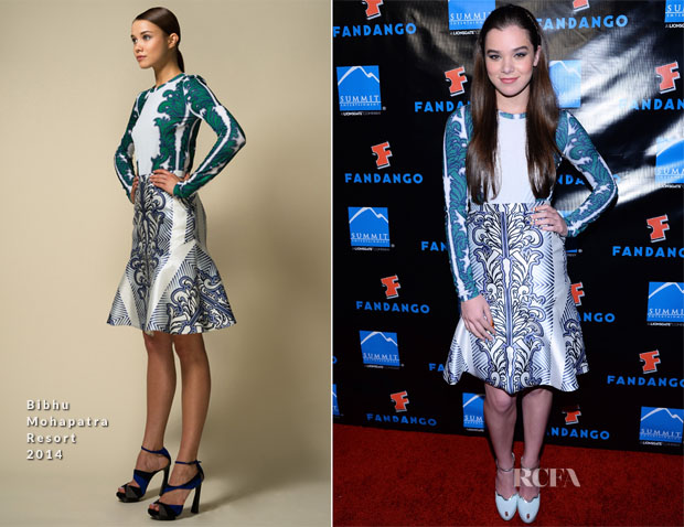 Hailee Steinfeld In Bibhu Mohapatra -  Summit Entertainment's Press Event For 'Ender's Game'