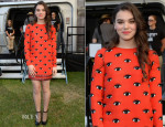 Hailee Steinfeld In Kenzo - 'Enders Game' Fan Experience Press Preview