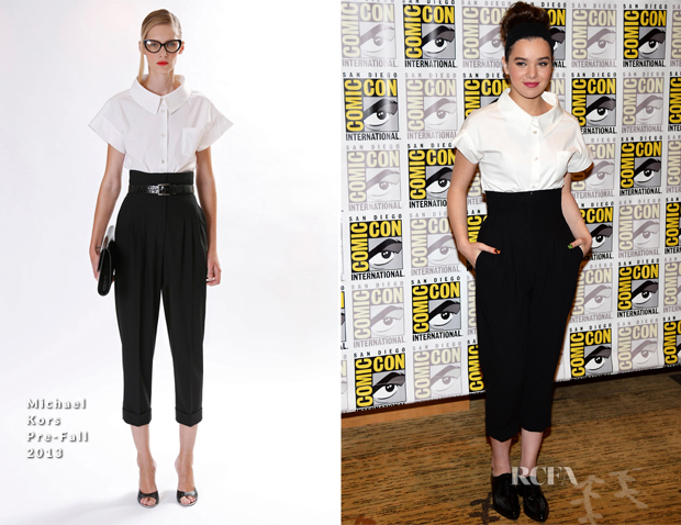 Hailee Steinfeld In Michael Kors - 'Ender's Game' Comic-Con Press Line