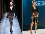 Heidi Klum In Roland Mouret - Project Runway Season 12 Episode 2