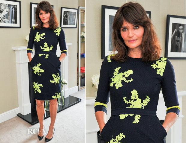 Helena Christensen In Preen - Matches Fashion Celebrates Rika Magazine Partnership