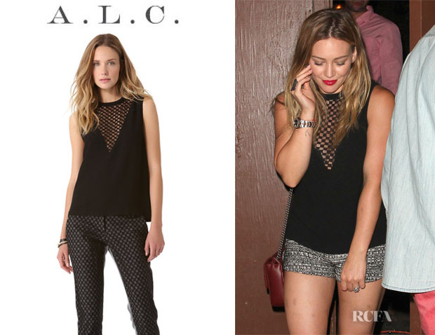 Hilary Duff's A.L.C. 'Harlow' Top1