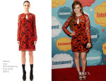 Holland Roden In Diane von Furstenberg - Entertainment Weekly's Annual Comic-Con Celebration