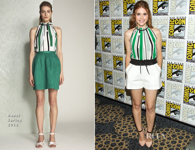 Holland Roden In Raoul - 'Teen Wolf' Press Line Comic Con 2013