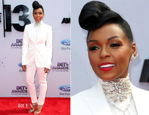 Janelle Monae In Dolce & Gabbana - 2013 BET Awards