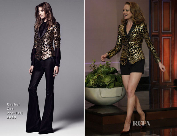 Jayma Mays In Rachel Zoe - The Tonight Show with Jay Leno