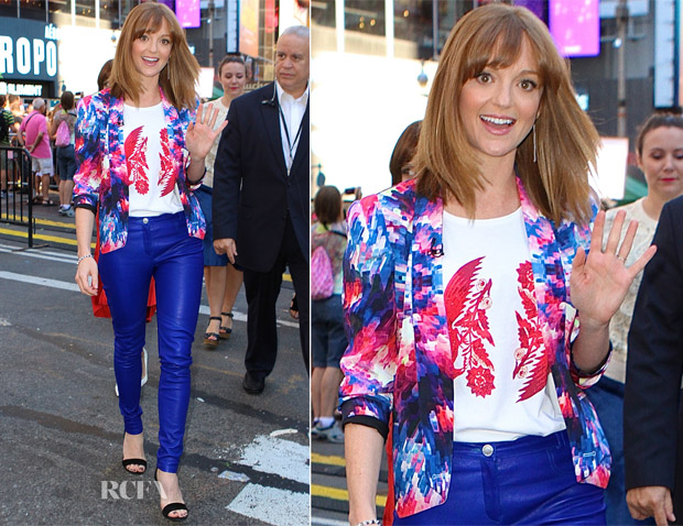 Jayma Mays In Rebecca Minkoff - Good Morning America