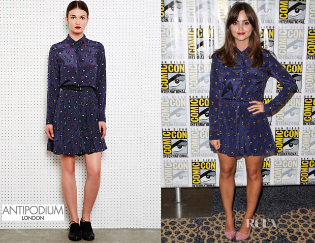Jenna Coleman's Antipodium Autobahn Dress
