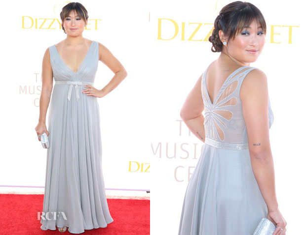 Jenna Ushkowitz In Sarah Janks - 3rd Annual Dizzy Feet Foundation's Celebration of Dance Gala