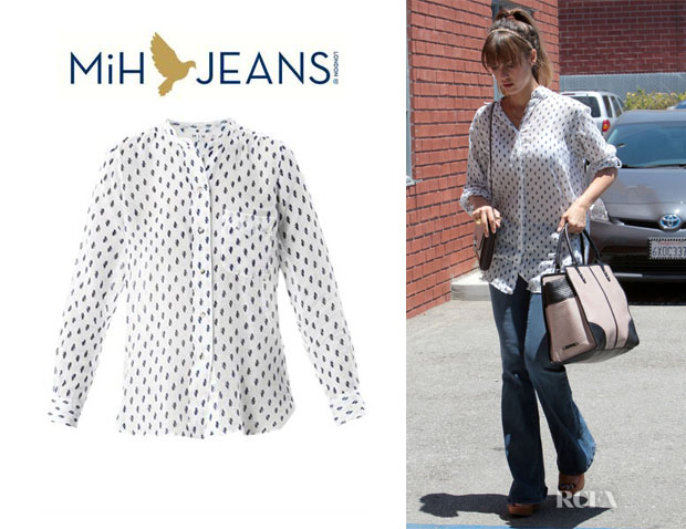 Jessica Alba's MiH 'Hockney' Shirt