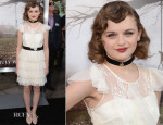 Joey King In Pearl by Georgina Chapman of Marchesa - 'The Conjuring' LA Premiere