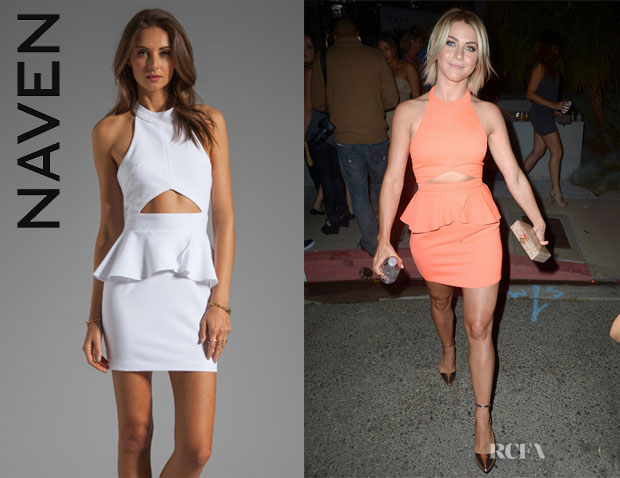 Julianne Hough's Naven 'Bardot' Dress