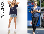 Kaley Cuoco's Wildfox 'Hey Sailor' T-Shirt