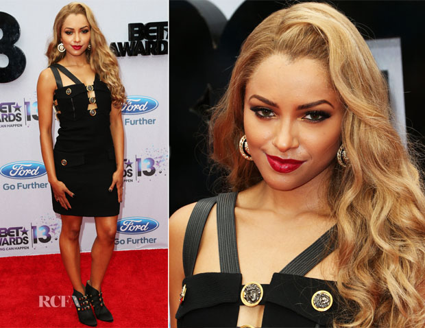 Kat Graham In Versace - 2013 BET Awards