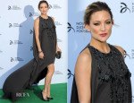 Kate Hudson In Elie Saab - Novak Djokovic Foundation London Gala Dinner
