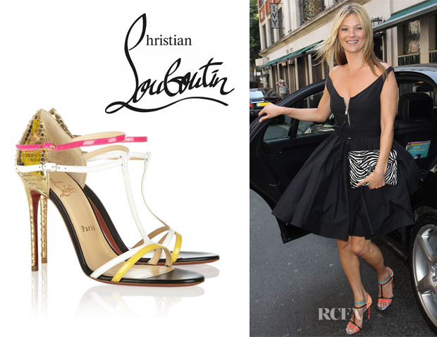 Kate Moss' Christian Louboutin 'Arnold' Sandals