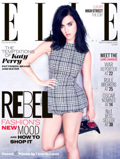 Katy Perry Elle UK