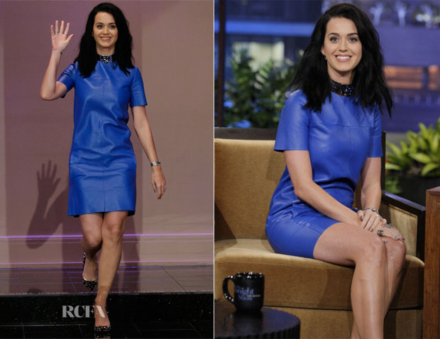Katy Perry In Celine - The Tonight Show with Jay Leno