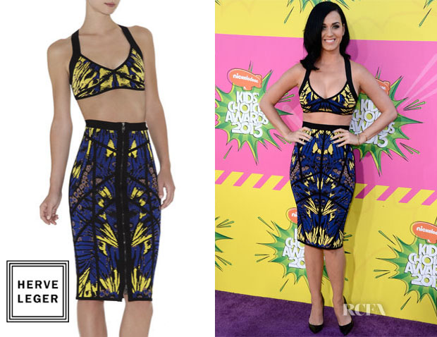 Katy-Perry-In-Hervé-Léger-By-Max-Azria