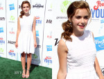 Kiernan Shipka In RED Valentino - Variety's 7th annual Power of Youth Event