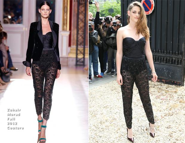 Kristen Stewart In Zuhair Murad Couture - Zuhair Murad Fall 2013 Couture Show