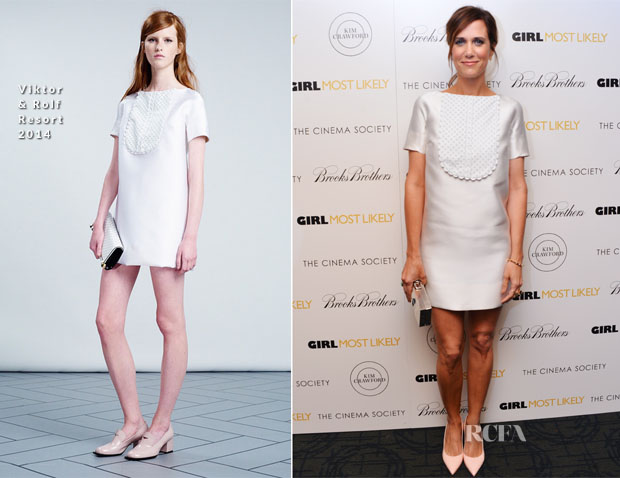 Kristen Wiig In Viktor & Rolf - 'Girl Most Likely' New York Screening