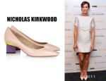 Kristen Wiig's Nicholas Kirkwood Patent Leather Pumps