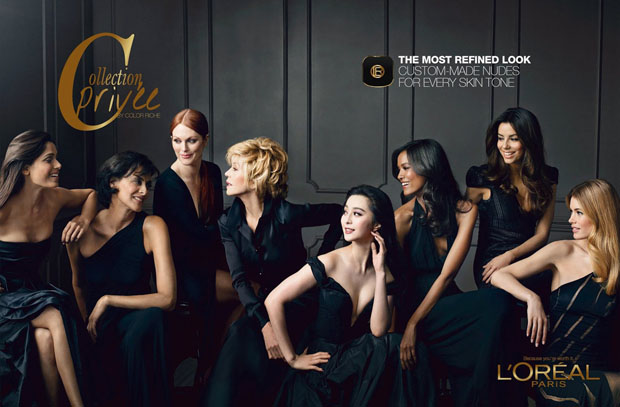 L'Oreal 'Collection Privee by Color Riche' Ad Campaign
