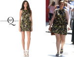 Lena Dunham's McQ Alexander McQueen Pocket Flare Dress