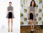 Lily Collins In Paper London - 'The Mortal Instruments: City of Bones' Press Line: Comic Con 2013