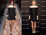 Maria Sharapova In Valentino - Porsche Design And Vogue Re-Opening Event