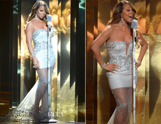 Mariah Carey In Pavoni by Mikael D - 2013 BET Performance
