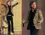 Mick Jagger In L'Wren Scott - British Summer Time Hyde Park