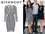 Mila Kunis' Givenchy Draped Ruffle Dress
